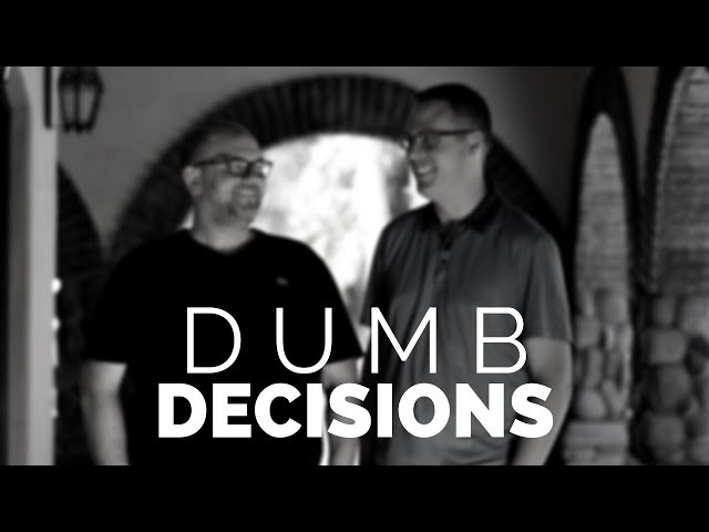 TAKING CORRECTIVE ACTION. Business Tip: What to Do When You Make a Dumb Decision