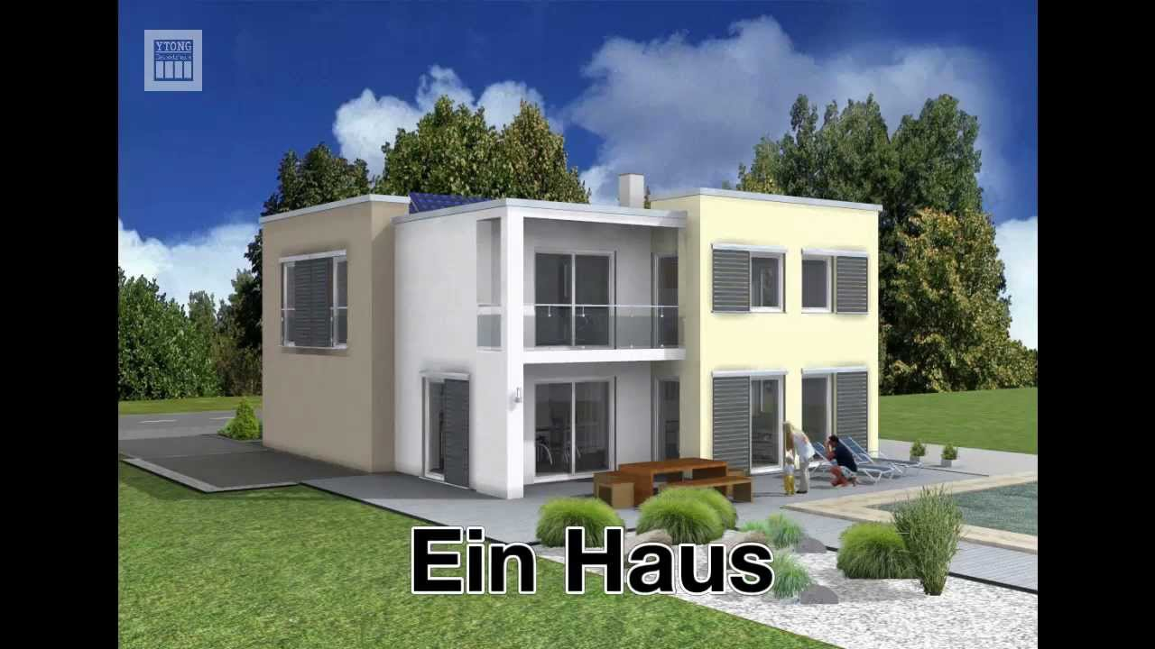 ytong bausatzhaus das haus der 1000 m glichkeiten youtube. Black Bedroom Furniture Sets. Home Design Ideas
