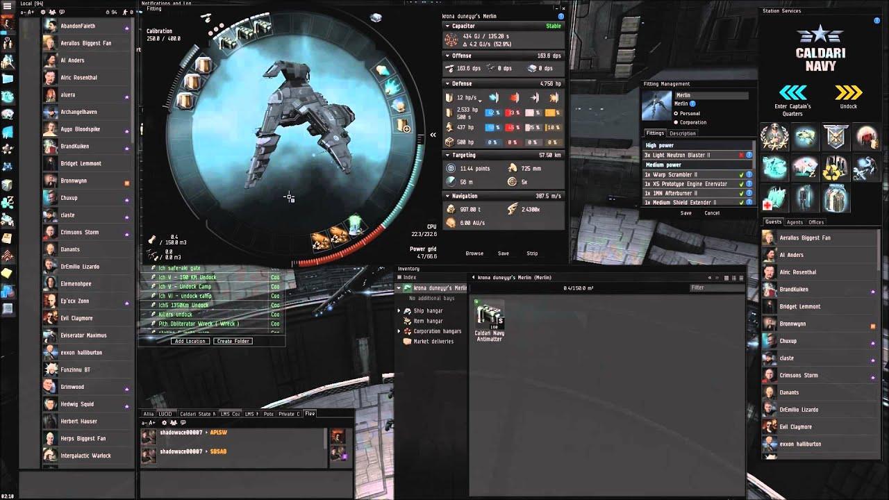 Merlin Build Eve Online
