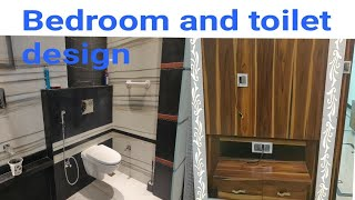 Bedroom bathroom design Room and attached toilet interior design and price