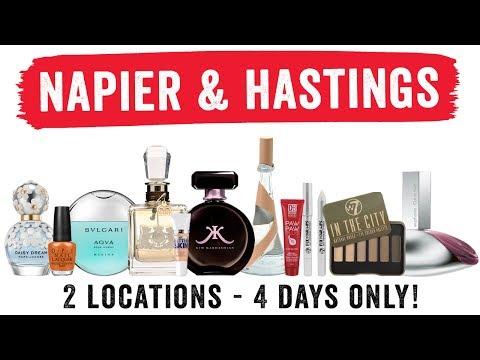 Napier & Hastings Huge Fragrance and Makeup Starts Thursday!!!