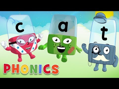 Phonics - Learn to Read | Words for Animals | Alphablocks