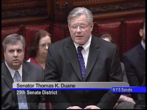 NYS Sen. Thomas Duane- Marriage Equality (explaini...