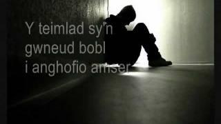 Y Teimlad lyrics: Welsh & English (by Datblygu)