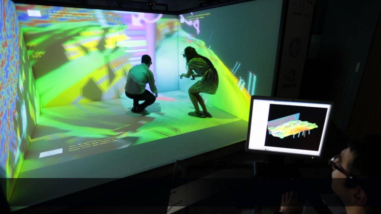 5528d56ccad TechViz - Virtual Reality immersive room - TechViz and Partners Interviews   ENG