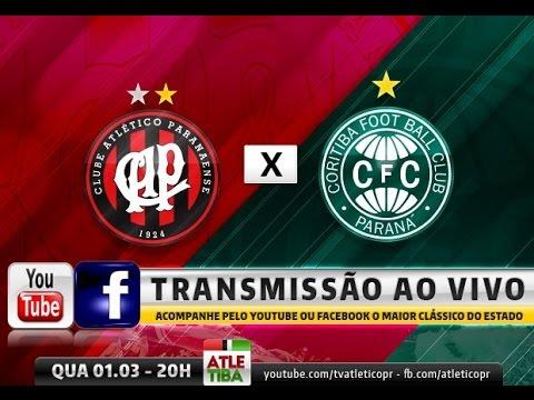 ATLETIBA - Atlético x Coritiba - Campeonato Paranaense (01/03/2017)