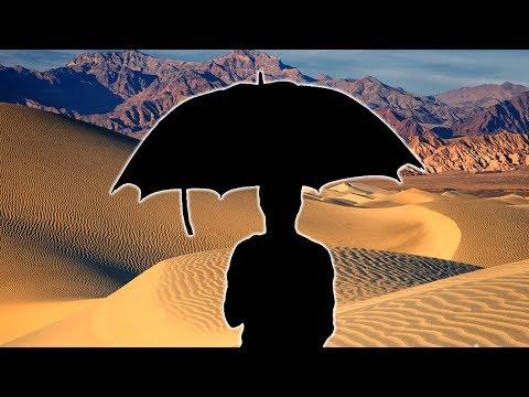"""David """"Jack"""" Sillito:  l'uomo che aspettava la pioggia... nel deserto!"""