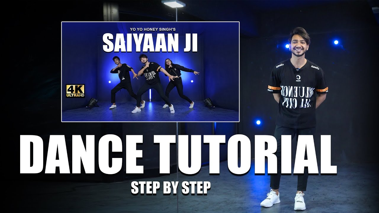 Saiyaan ji Step By Step Dance Tutorials | Vicky Patel Choreography