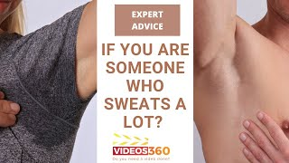 Now Trending - Remedy for excessive sweating by Dr. Amanda Lloyd