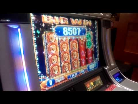 HUGE slot machine Hit at sands casino Pennsylvania