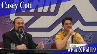 Casey Cott - Full Panel/Q&A - FanX 2019