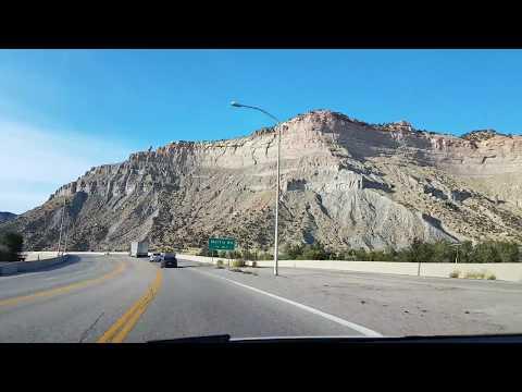 Driving through Price Canyon US-6 // Utah US Highway 6
