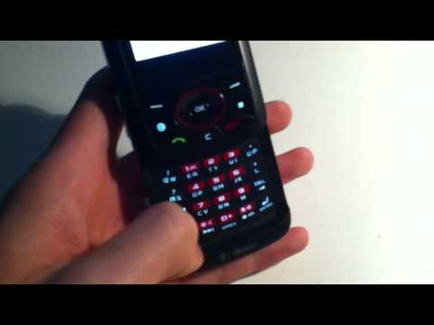 T-Mobile Samsung Blast SGH-T729 Red Slider Cell Phone Review