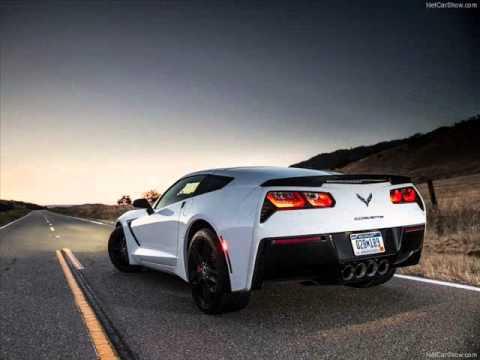 All New 2014 Chevrolet Corvette Stingray C7 White Youtube