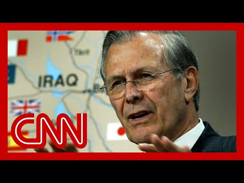 Donald Rumsfeld's legacy: The Iraq war and September 11th