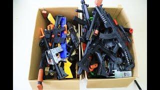Box of Toys ! GUNS BOX Toys Military & Police equipment | Gun toy (22)