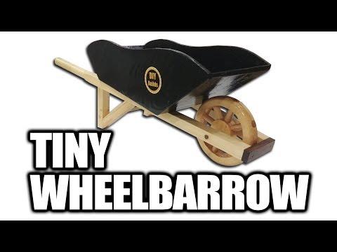How to Build a Tiny Wheelbarrow (for Kids)