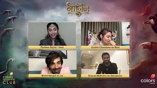 Mohit Sehgal Live chat with Surbhi Chandna and Sharad Malhotra #Naagin5