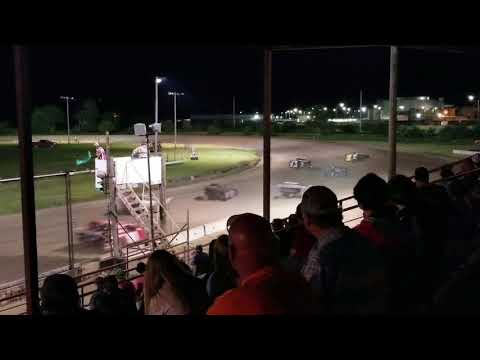 6-3-18 Dawson County Raceway NeSmith Late Model Feature Cory Dumpert