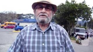 Don Rafa Marcha Contra el Gasoducto en Adjuntas, Puerto Rico - 5/01/2011 (Sin editar)