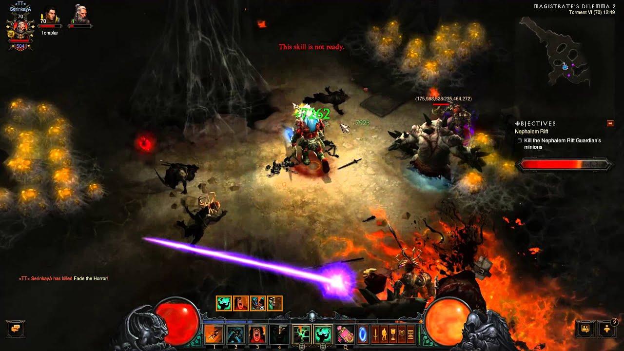 Diablo  Reaper Of Souls Barbarian Build Torment