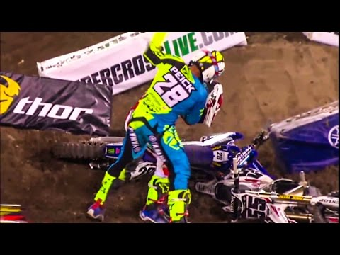 2016 AMA Supercross Fight