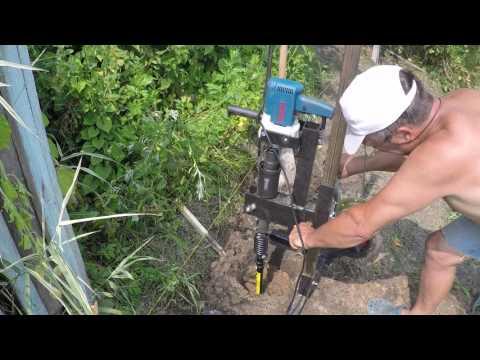 видео: Ямобур: бурим в глине