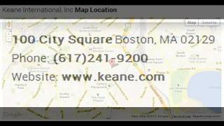 Keane International, Inc Corporate Office Contact Information