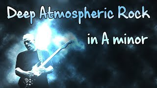 Deep Atmospheric Rock Backing Track in Am
