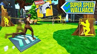 TUTTI VS TUTTI with LE HACK using ONLY the NUOVA ARMA(MINI GIOCO) Fortnite ITA