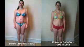 TurboFire Transformation 45 lbs & 38 inches Baby weight melted away!