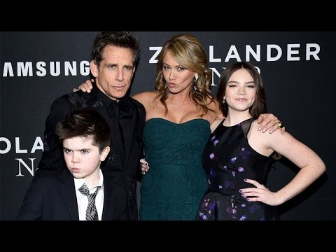 ben-stiller-and-christine-taylor-'blue-steel'-with-their-adorable-kids-for-'zoolander-2'