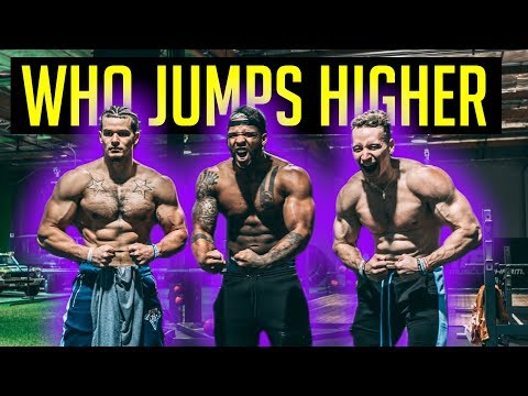 Swole Dunk Session (Who Jumps Higher?)  Ft. The Lost Breed