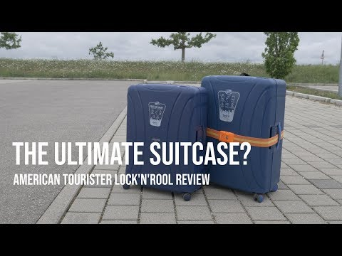 The Best Suitcase? American Tourister Lock'n'Roll Review