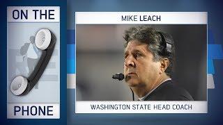 Washington State HC Mike Leach Talks Playoffs, Thanksgiving & More w/Rich Eisen | Full Interview
