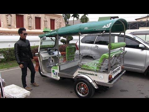 First electric tuk tuk in Chiang Mai