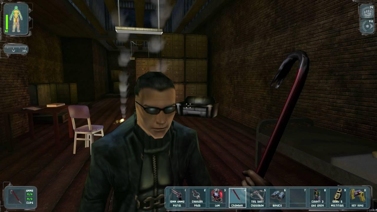Deus Ex Sewers Hell S Kitchen