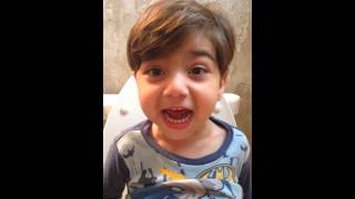 Adorable Toddler Claims Baba Broke my Bed!!! YEAHHHH!!!! #pottytraining #adamsworld #funnytoddlers