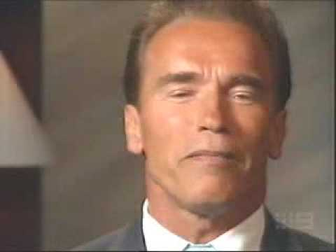Governor Arnold Schwarzenegger Interview bodybuilding politics