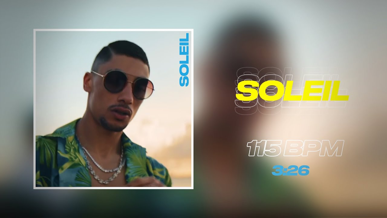 "Maes x Booba Type Beat - ""Soleil"" ☀️ ft. Bolemvn | Instru Rap 2021"