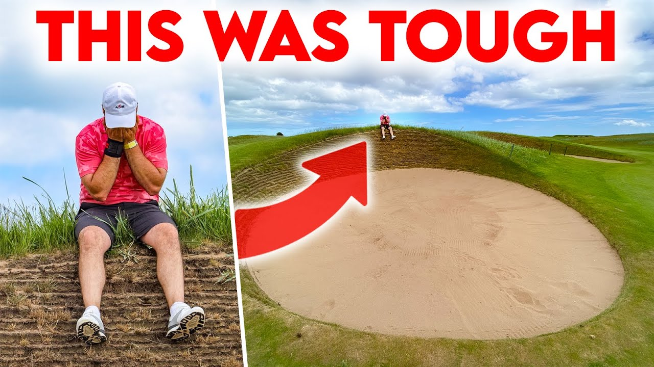 I take on the HARDEST COURSE in the WORLD! (Carnoustie Course Vlog)