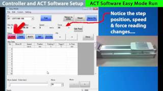 This instructional video demonstrates configuration of the jxc91 electric actuator controller and setup act software. learn more: http://www.smcusa.co...