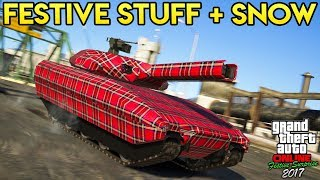 GTA Online - NEW FESTIVE LIVERIES TODAY, SNOW INFO & MORE UPCOMING CHRISTMAS THEMED CONTENT