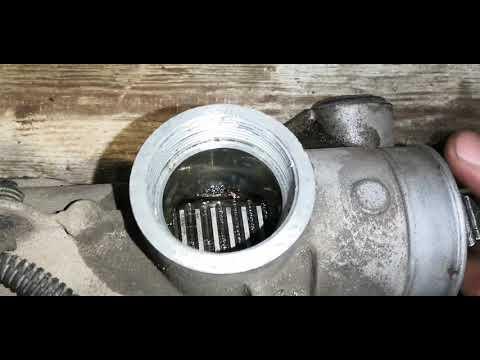 Профилактика разборка рулевой рейки (эур) форд3