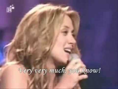Lara Fabian  Caruso English lyrics translation