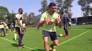 Entrenamiento Club América 21 de marzo en Coapa 2017 Video