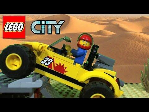 LEGO City Dune Buggy Trailer 60082