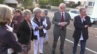 Visite de Marie-Guite DUFAY, présidente de région Bourgogne Franche-Comté, à Avallon (89)