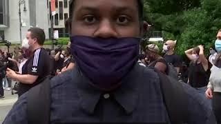 弗洛伊德之死引发抗议仍在继续抗议者有话说