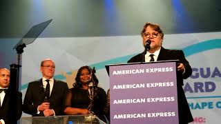 """Shape of Water"" - Guillermo del Toro Speech - Vanguard Award - Palm Springs Film Fest - 1-2-18"